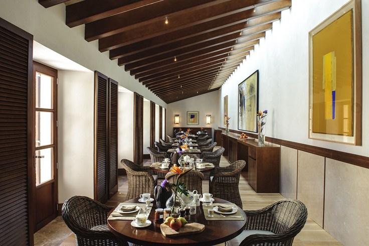 カステル・ソン・クラレットのレストラン