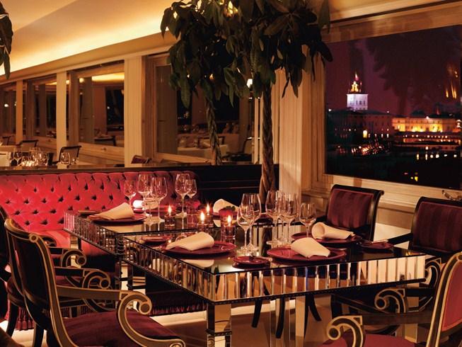 ハスラー・ローマ Hassler Romaのレストラン