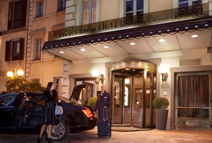 カールトン・ホテル・バリオーニ・ミラノ Carlton Hotel Baglioni Milanの外観