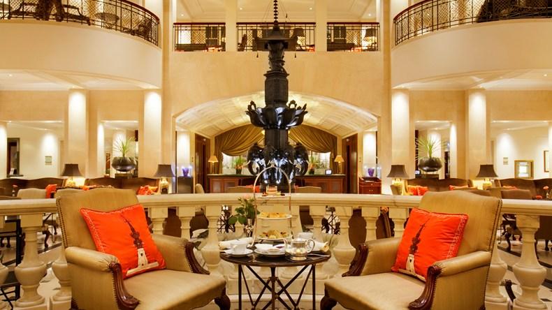 ホテル・アドロン・ケンピンスキー Hotel Adlon Kempinskiのロビー