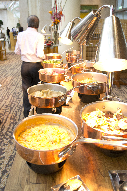 グリーンハウスの朝食ビュッフェ