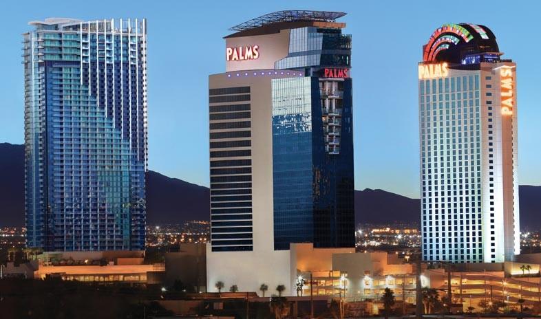 パームス・カジノ・リゾート The Palms Casino Resortの外観