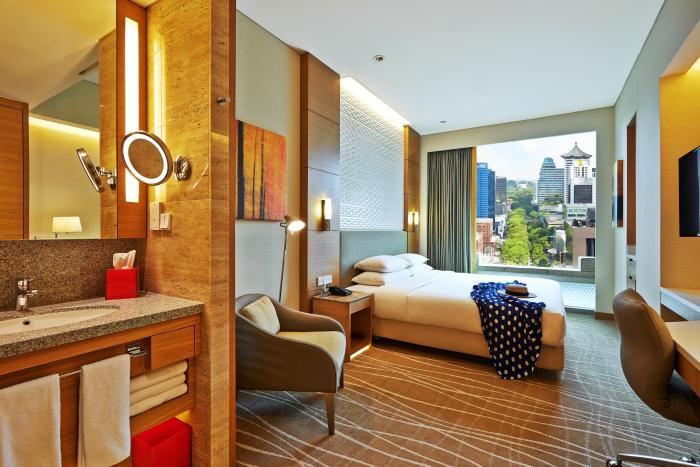 ホテル・ジェン・タングリン・シンガポールの客室2