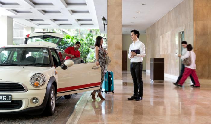 ホテル・ジェン・タングリン・シンガポールの嬉しいサービス