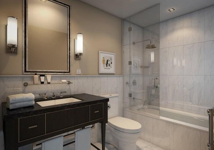 ザ・ゲインズボロー・バース・スパ The Gainsborough Bath Spaのバスルーム