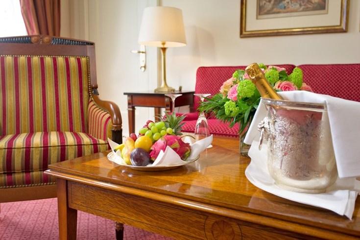 フェアモント・ホテル・フィア・ヤーレスツァイテン Fairmont Hotel Vier Jahreszeitenの客室
