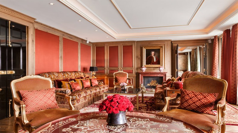 ホテル・アドロン・ケンピンスキー Hotel Adlon Kempinskiの客室