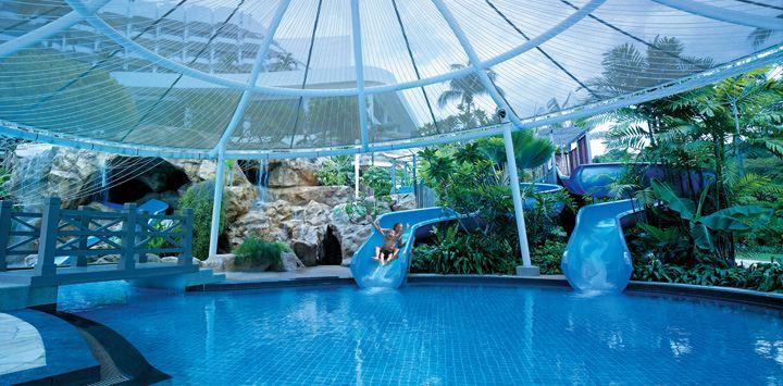 シャングリラ・ラサ・セントーサ・リゾート&スパのプール