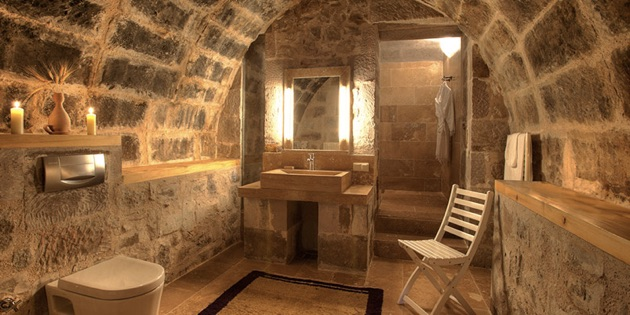 アルゴス・イン・カッパドキアのバスルーム