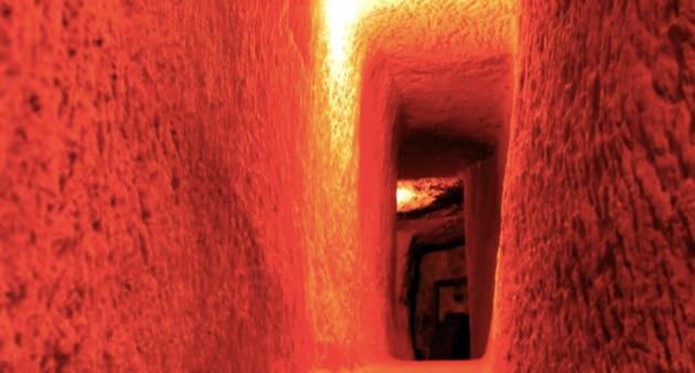 アルゴス・イン・カッパドキアの地下トンネル