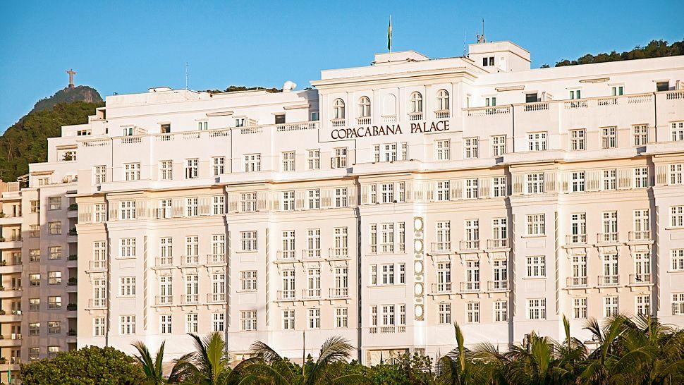 コパカパーナのビーチを一望できるリオデジャネイロの「ベルモンド・コパカパーナ・パレス」