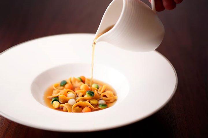 ザ・リッツ・カールトン京都のイタリアンレストラン「ラ・ロカンダ」の料理