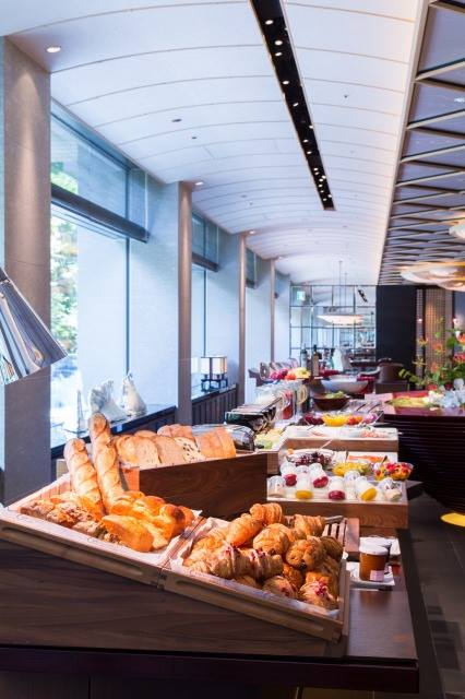 ザ・リッツ・カールトン京都の朝食のブッフェ