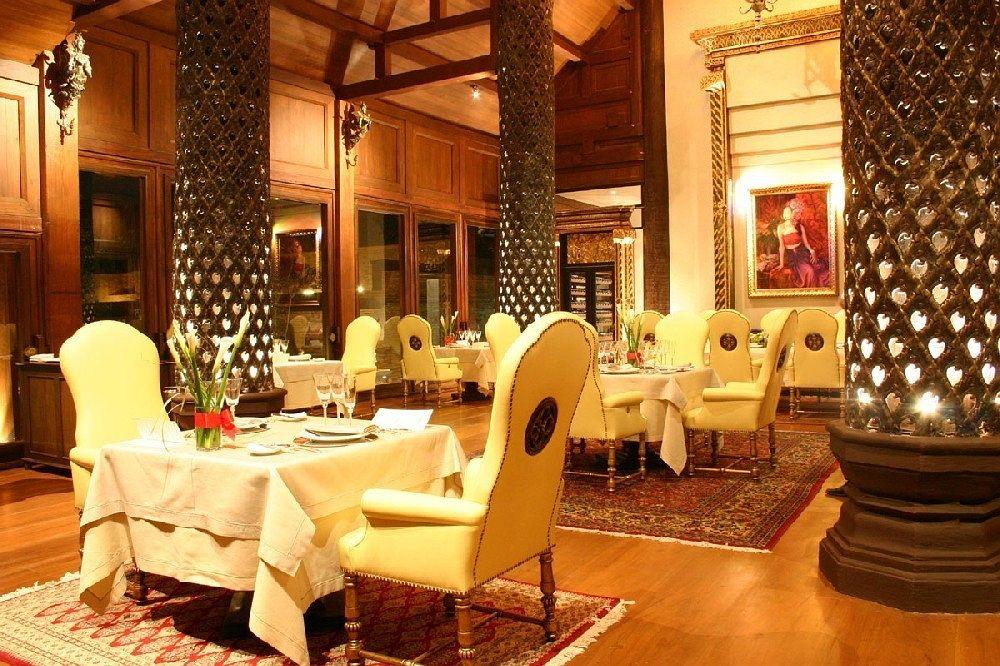 ダラ・デヴィ・チェンマイ The Dhara Dhevi Hotel Chiang Maiのレストラン