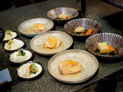 アンダーズ東京の朝食ブッフェの和食