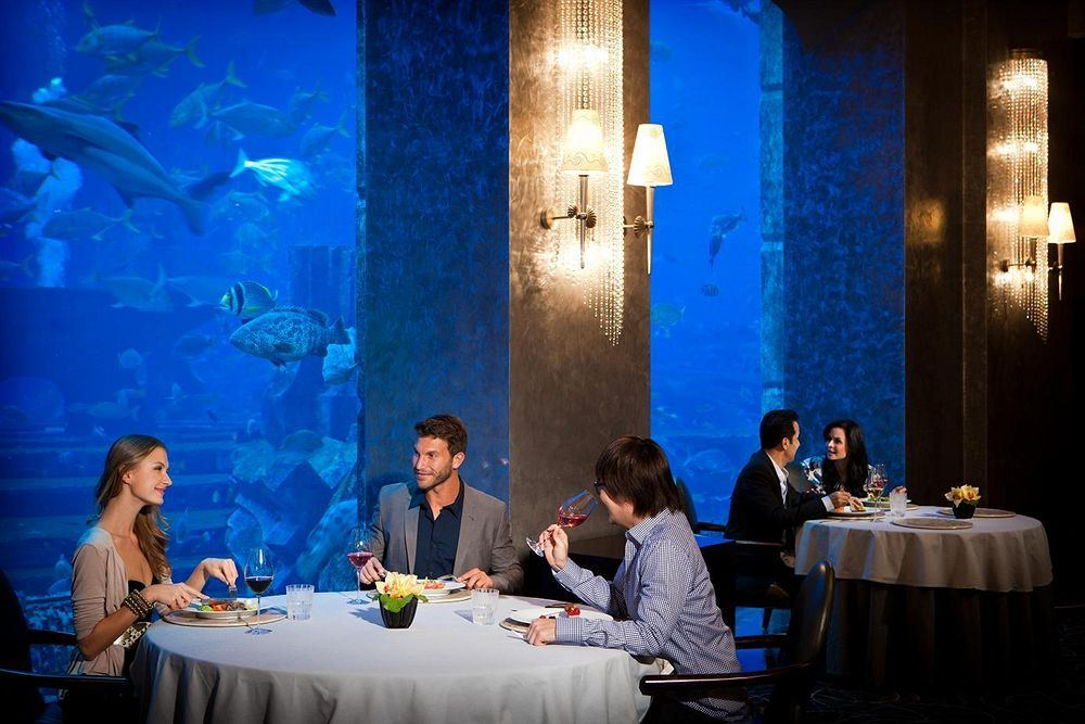 アトランティス・ザ・パーム Atlantis, The Palmののレストラン