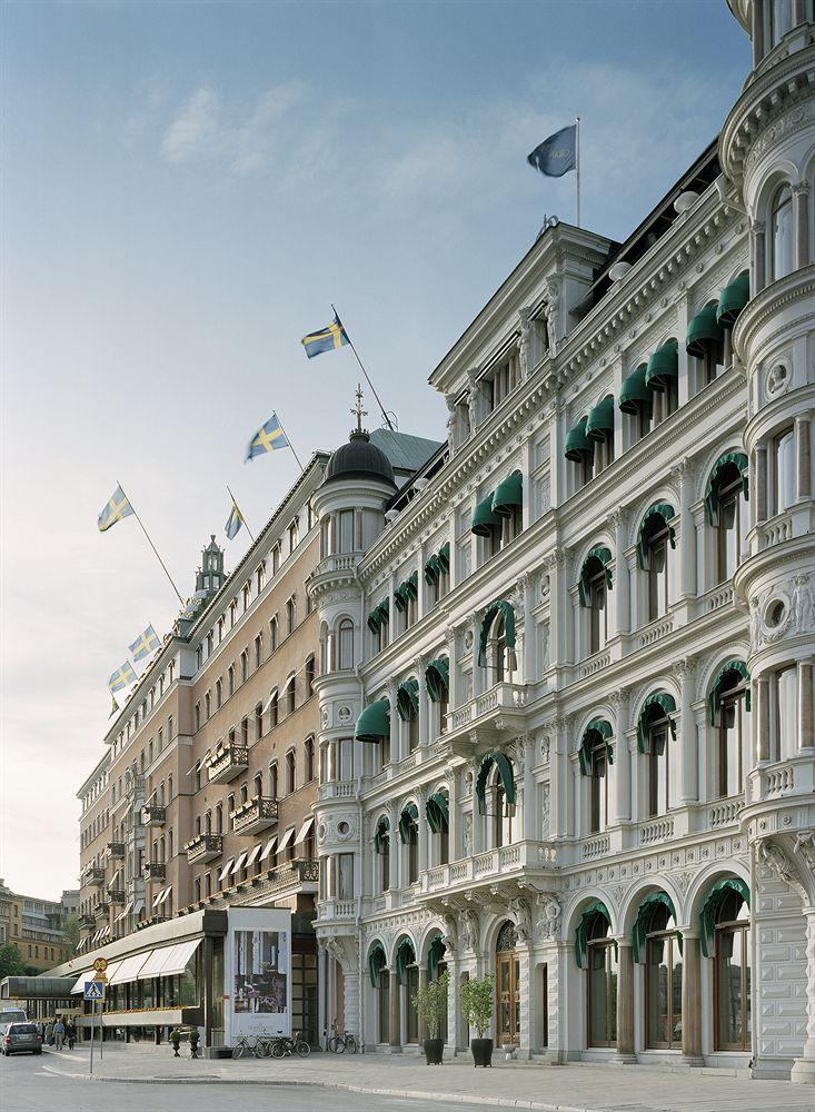 グランド・ホテル Grand Hotel Stockholmの外観