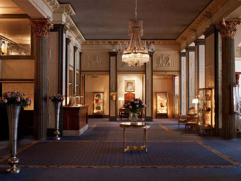 グランド・ホテル Grand Hotel Stockholmのロビー