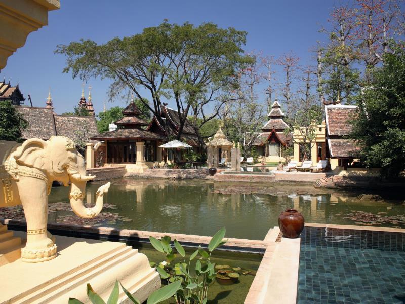 ダラ・デヴィ・チェンマイ The Dhara Dhevi Hotel Chiang Maiの敷地