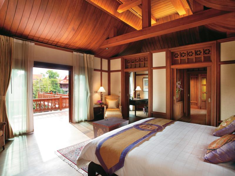 ダラ・デヴィ・チェンマイ The Dhara Dhevi Hotel Chiang Maiの客室