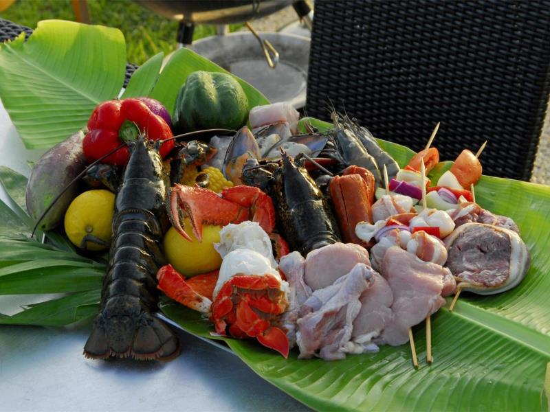 シェラトン・ラグーナ・グアム・リゾート Sheraton Laguna Guam Resortのレストランの食材