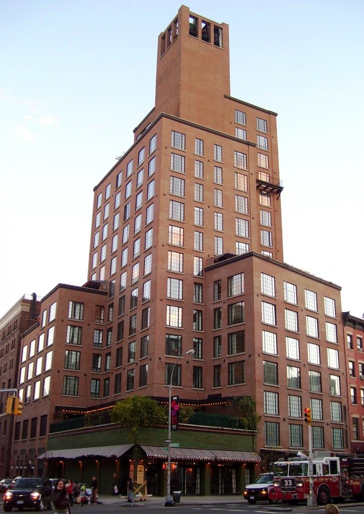 ザ・バワリー・ホテル The Bowery Hotelの外観