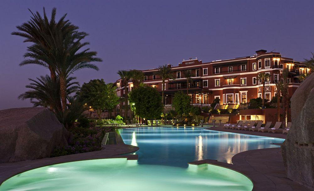 ソフィテル・レジェンド・オールド・カタラクト・アスワン Sofitel Legend Old Cataract Aswanの夜の風景