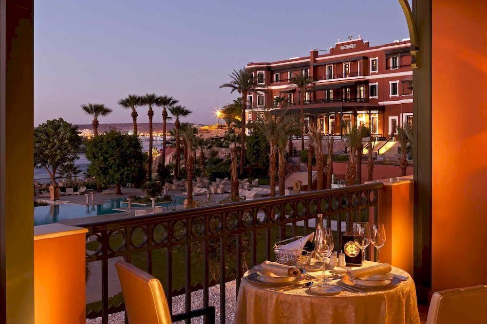 ソフィテル・レジェンド・オールド・カタラクト・アスワン Sofitel Legend Old Cataract Aswanからの眺め