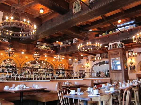 ザ・バワリー・ホテル The Bowery Hotelのレストラン