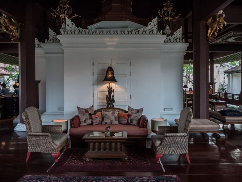 ダラ・デヴィ・チェンマイ The Dhara Dhevi Hotel Chiang Maiのロビー