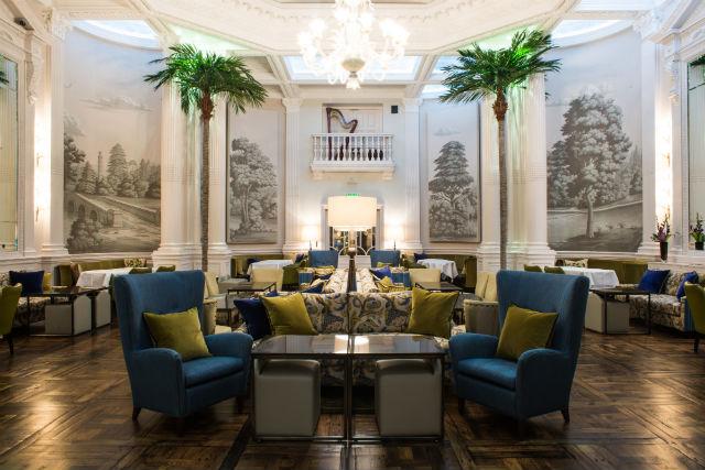 ロッコ・フォルテ・バルモラル・ホテル Rocco Forte Balmoral Hotelのカフェ