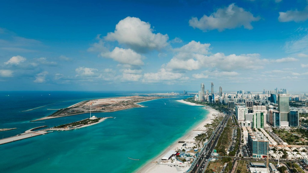 セント・レジス・アブダビ The St. Regis Abu Dhabiからの眺め