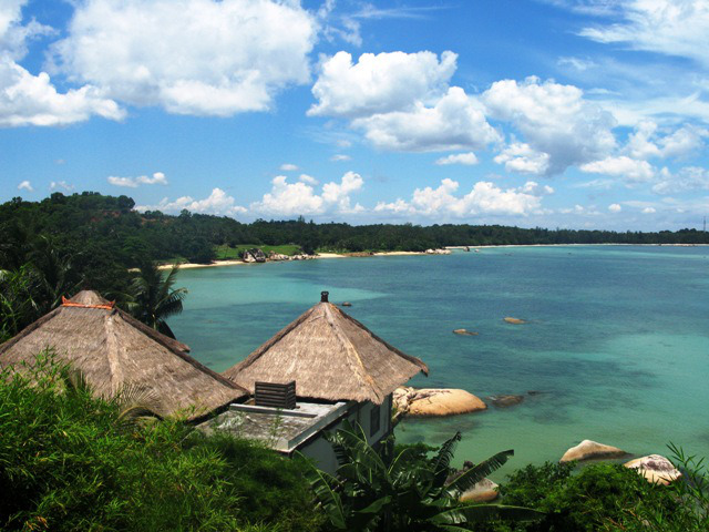 バンヤン・ツリー・ビンタン Banyan Tree Bintanと海