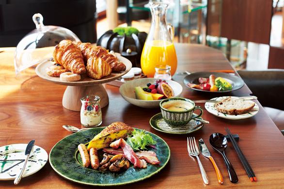 アンダーズ東京の朝食ブッフェの料理