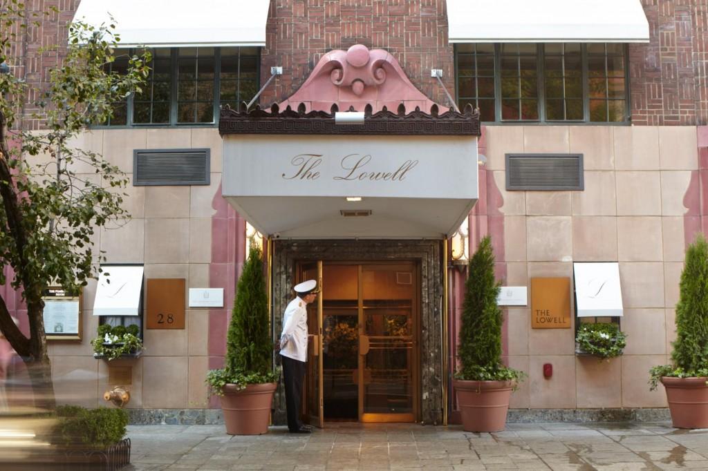 世界有数の高級住宅街NYのアッパー・イースト・サイドに建つ「ザ・ローウェル」