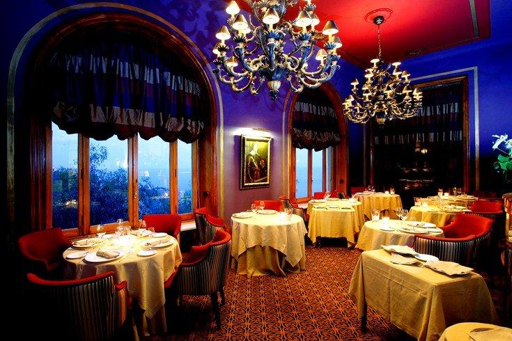 サン・ドメニコ・パレス・ホテル San Domenico Palace Hotelのレストラン