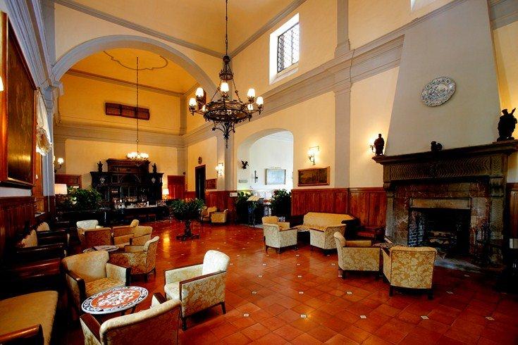サン・ドメニコ・パレス・ホテル San Domenico Palace Hotelのロビー