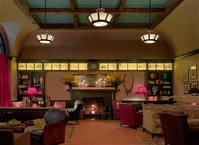 ザ・グリニッチ・ホテル The Greenwich Hotelのロビー