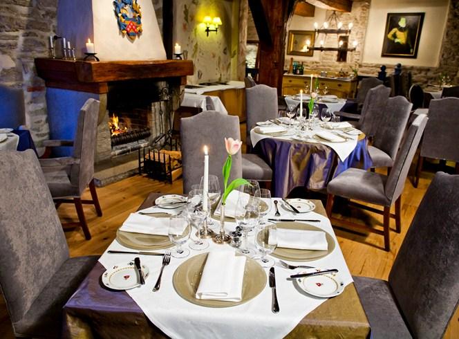 シュロッスル・ホテル Schlössle Hotelのレストラン