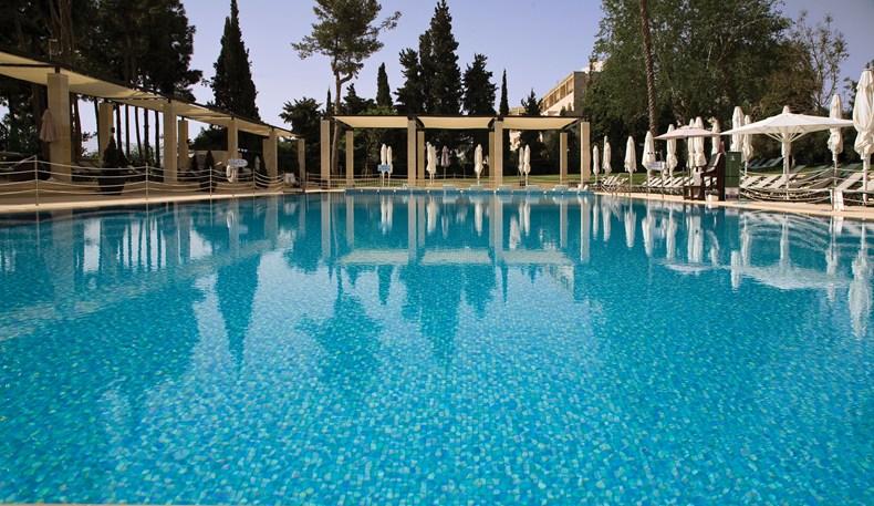 ザ・キング・デイビッド The King Davidの屋外プール
