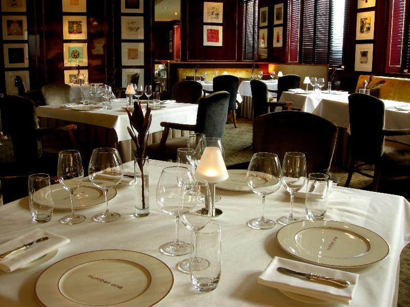 ロッコ・フォルテ・バルモラル・ホテル Rocco Forte Balmoral Hotelのレストラン