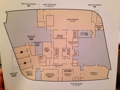 51階のフロアマップ