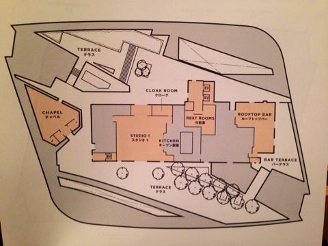 52階のフロアマップ