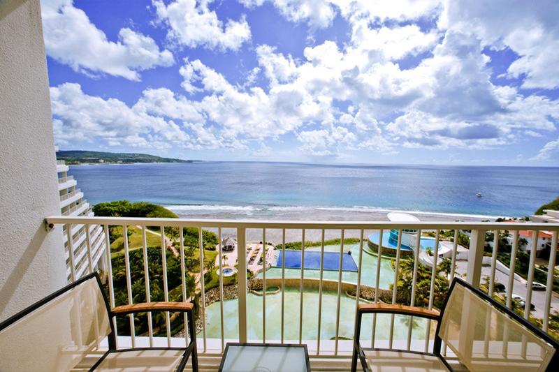 シェラトン・ラグーナ・グアム・リゾート Sheraton Laguna Guam Resortのバルコニー