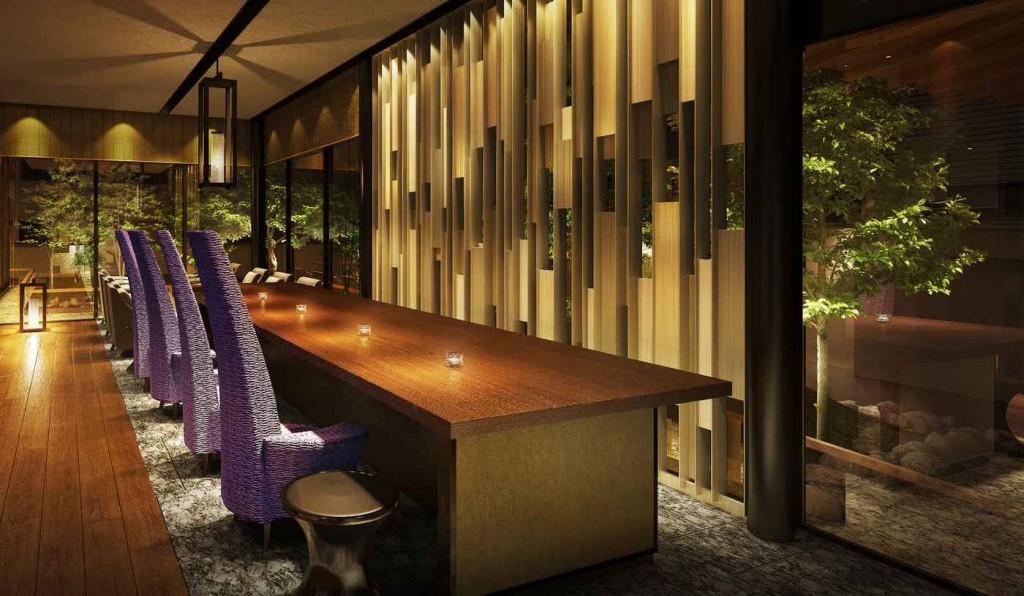 翠嵐 ラグジュアリーコレクションホテル 京都のレセプション