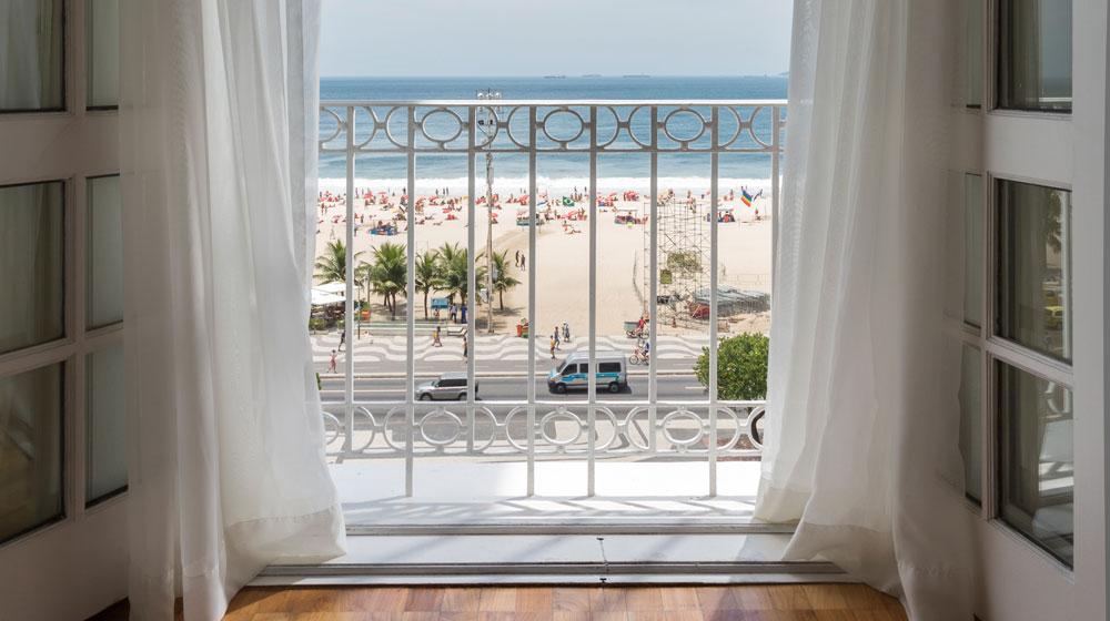 ベルモンド・コパカパーナ・パレス Belmond Copacabana Palaceからの眺め