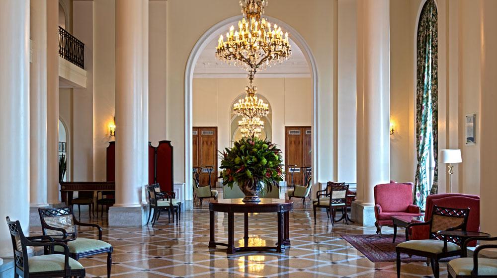 ベルモンド・コパカパーナ・パレス Belmond Copacabana Palaceのロビー