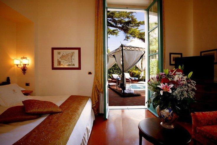 サン・ドメニコ・パレス・ホテル San Domenico Palace Hotelの客室