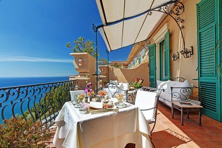サン・ドメニコ・パレス・ホテル San Domenico Palace Hotelのテラス