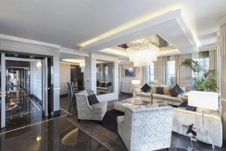 レジーナ・ホテル・バリオーニ・ローマ Regina Hotel Baglioni Romeの客室